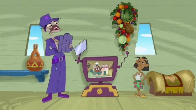 دانلود انیمیشن مدرسه جدید امپراطور فصل اول قسمت دهم