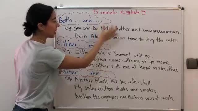 آموزش زبان انگلیسی در 5 دقیقه ! - گرامر both ، neither و either در انگلیسی