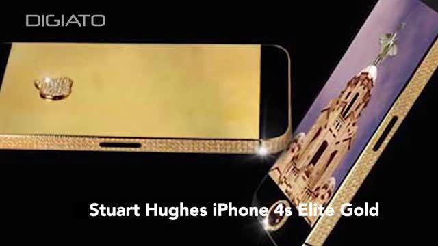 با 10 تا از گرانترین گوشی های دنیا آشنا شوید!