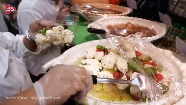 آموزش طرز تهیه ساندویج ایتالیایی در نیویورک