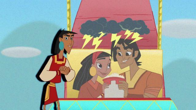 دانلود انیمیشن مدرسه جدید امپراطور فصل اول قسمت سینزده