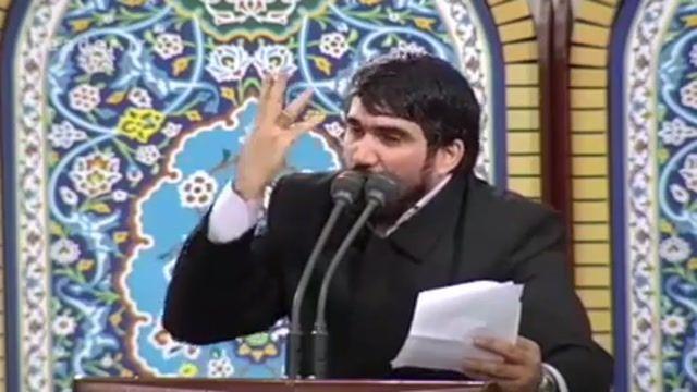 مداحی حماسی حاج محمد باقر منصوری در محضر رهبری 96