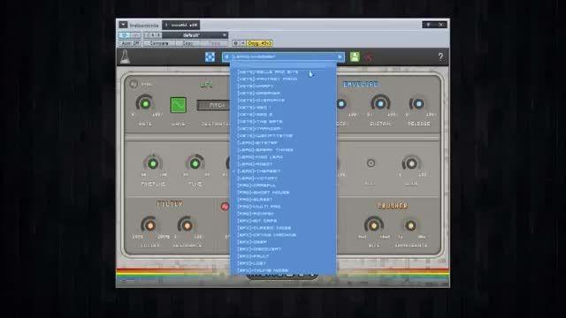 دانلود وی اس تی سینت سایزر کم حجم AudioThing miniBit v1.5.0 CE-V.R