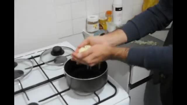 How To Make Lobia Polo - آموزش درست کردن لوبیا پلو