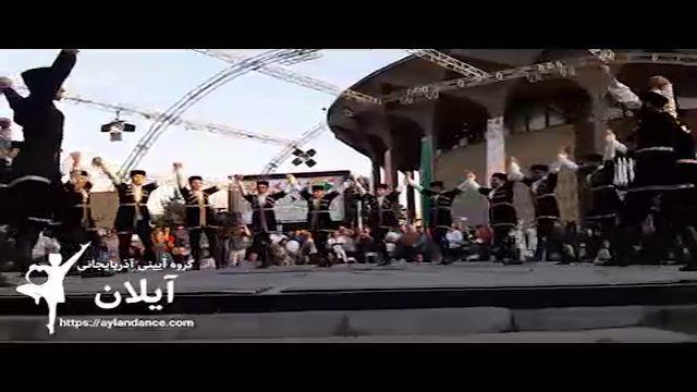 رقص یاللی آیینی توولاما برگرفته از روستاهای آذربایجان