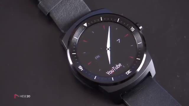 نقد و بررسی ویدیویی ساعت هوشمند LG G Watch R