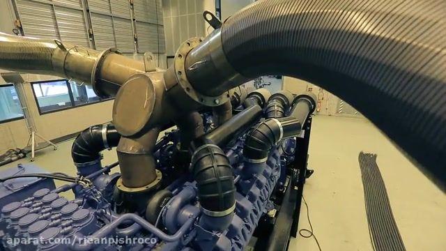 دیزل ژنراتور چگونه ساخته میشود- ریان پیشرو دیزل