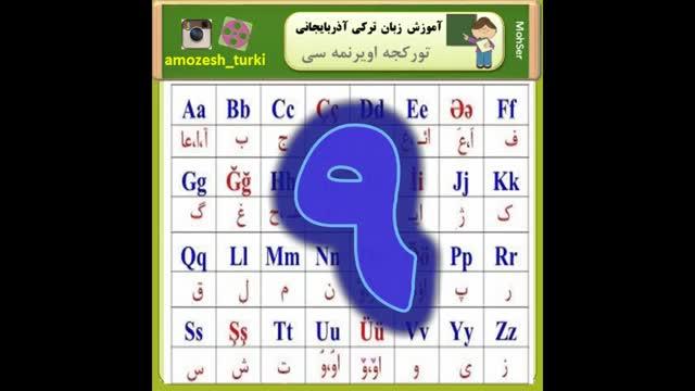 حروف صدادار در زبان ترکی آذربایجانی (به زبان فارسی )