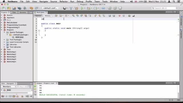 6- گرفتن داده از کاربر در جاوا Java
