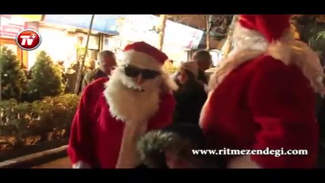بابانویل و درخت کریسمس چقدر آب می خورد؟/گزارشی از حال و هوای سال نوی میلادی