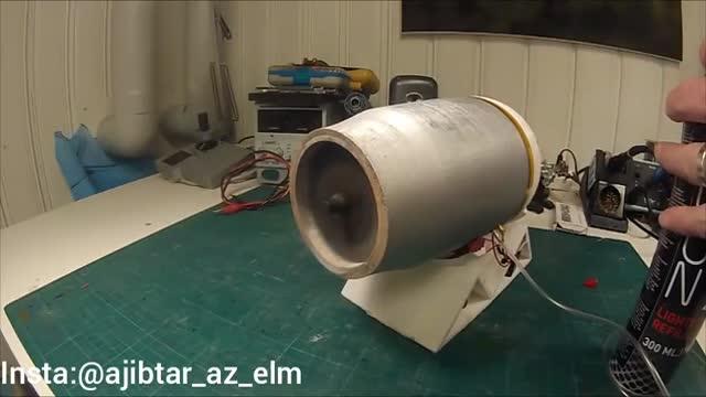 ساخت موتور جت بوسیله پرینتر سه بعدی