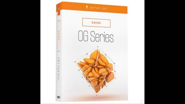 دانلود سمپل و لوپ های جدید Octve OG Series: UNKWN WAV FXP
