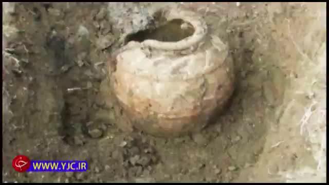 کشف چند خمره قدیمی توسط شهرداری همدان و تکذیب آن از سوی شهرداری !