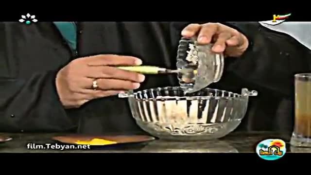 طرز تهیه دلمه برگ مو (به زبان عربی) شبکه خوزستان