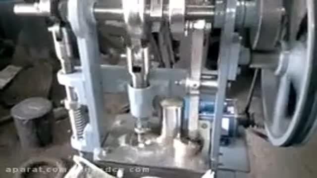 دستگاه پرس قرص هیدرولیکی(قرص نفتالین)