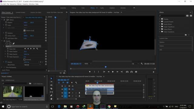 32- اصلاح ویدیو با ماسک در Adobe Premiere - سعید طوفانی
