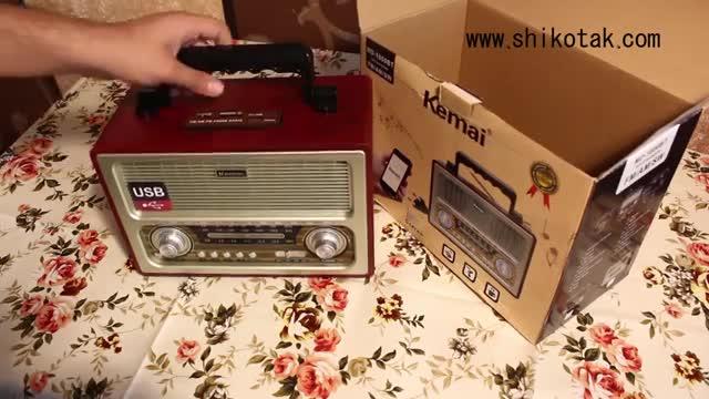 رادیویی که بدون برق و باطری هم کار می کند!!!