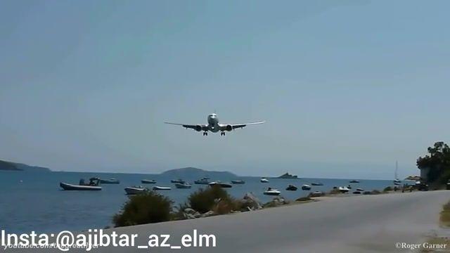 فرودگاه جزیره سینت مارتن یکی از خطرناکترین فرودگاه های جهان