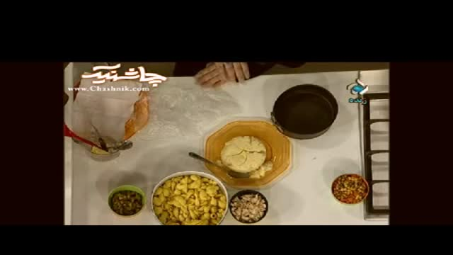 آموزش آشپزی-سالاد قالبی       