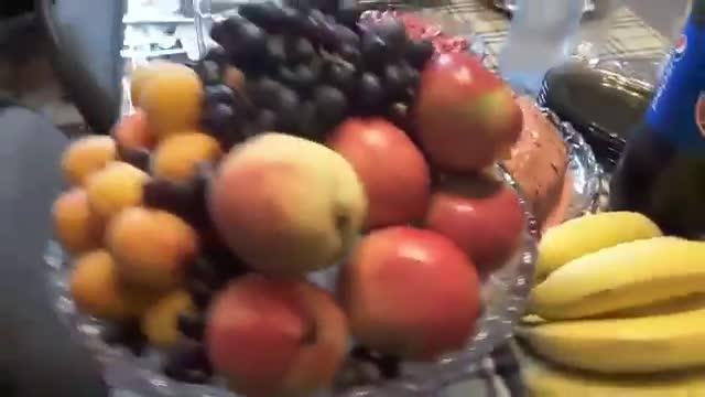 ویدیو مهمانی در منزل , غذا های افغانی