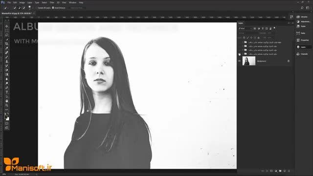 آموزش طراحی آلبوم دیجیتال و درک کامل تکنیک نورگیری مضاعف Double Expose