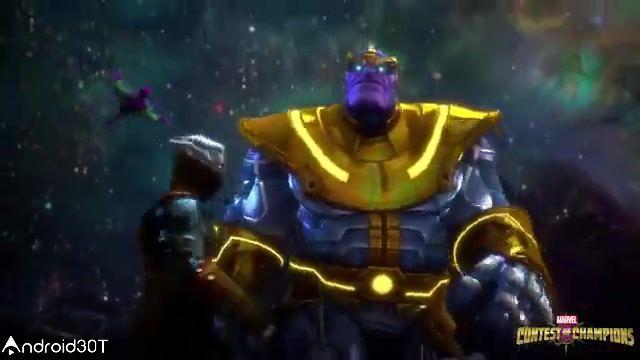 بازی آنلاین و محبوب مبارزه قهرمانان مارول در اندروید Marvel Contest of Champions