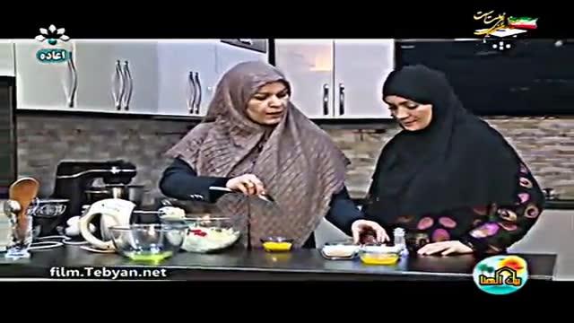 طرز تهیه کیک پرتقالی (به زبان عربی) شبکه خوزستان