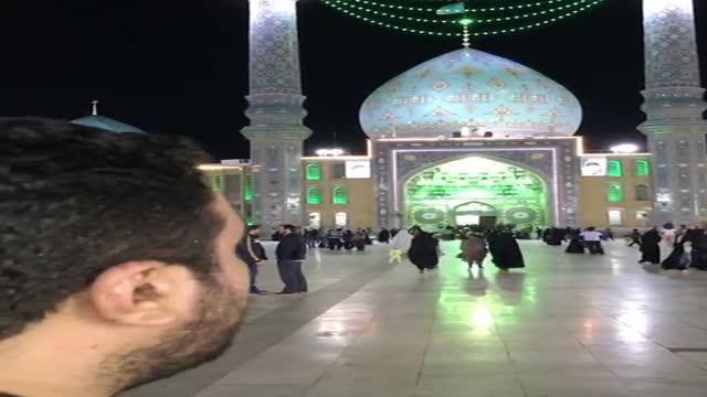 حاج مهدی لیثی در مسجد مقدس جمکران پخش از نغمه سرای علمدار تبریز