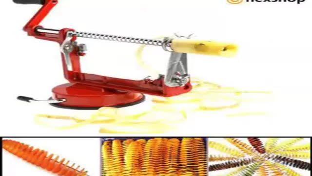 دستگاه برش فنری سیب زمینی