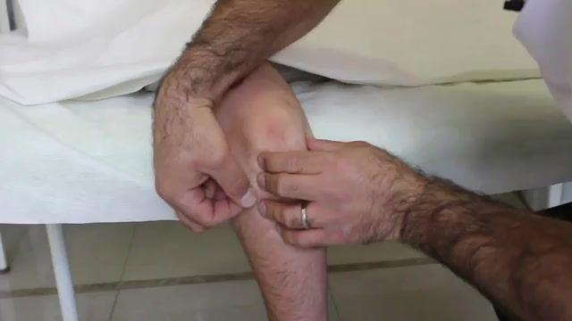 درمان درد آرنج با درای نیدلینگ در کلینیک فیزیوتراپی آرامش سعادت آباد