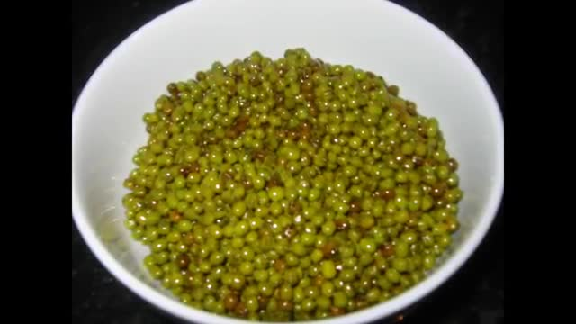 Riz aux haricots mungos   - Mâsh Polo    نحوه پخت ماش پلوسنتی