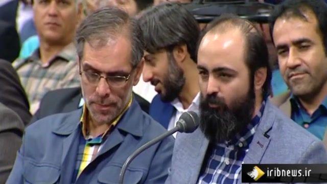 جلسه همنشینی رهبر عظیم الشان انقلاب با از جمعی از شاعران و اساتید ادبیات فارسی