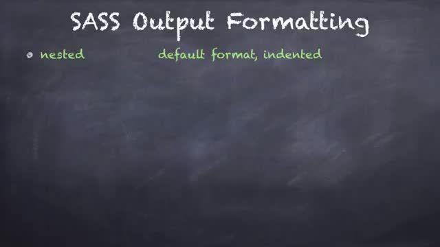 20- قالب بندی و واردکردن فایل در SASS
