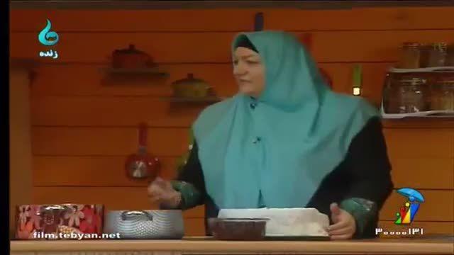 طرز تهیه مربای آلبالو خوشرنگ با نکات کلیدی توسط خانم مهری (گیلکی)