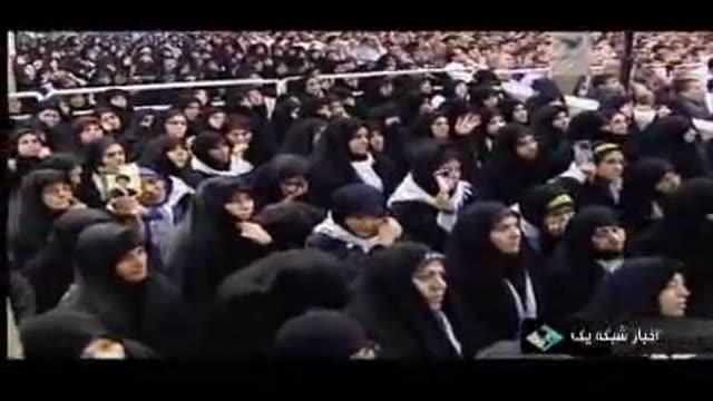 دیدار جمعی از فرهنگیان با رهبر انقلاب
