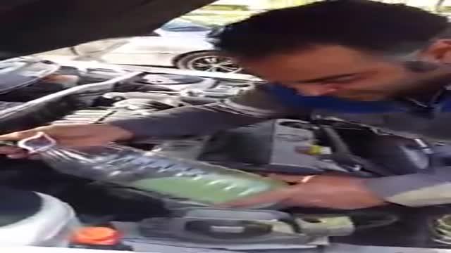 کلاهبرداری پمپ بنزین های مشهد با مخلوط کردن آب