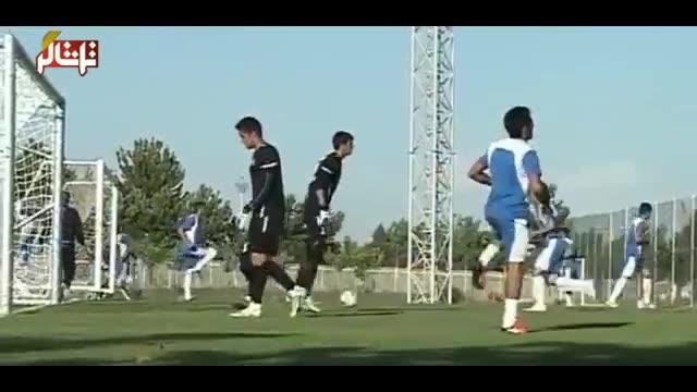 تماشاگر //  برگزاری اردوی تیم ملی امید بدون داشتن کادر فنی (ویدیو)