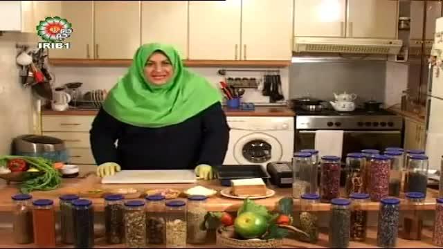 طرز تهیه پیتزا فوری و خوشمزه (خانم کامیار)