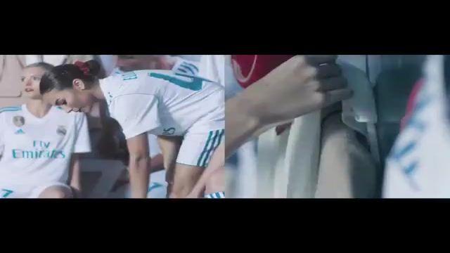 تبلیغ جالب هواپیمایی امارات با حضور بازیکنان ریال مادرید