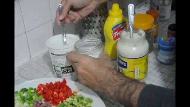 How To Make Chiken Asparagus Pasta - آموزش درست کردن پاستای مرغ و مارچوبه