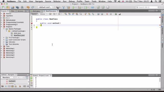 11- ساختن چندین Class در جاوا Java