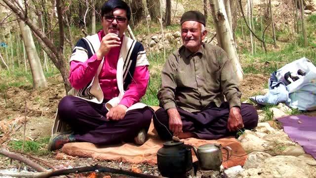 مصاحبه ای باکشاورزفارسانی(باباحیدر)