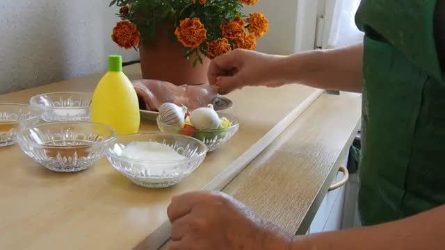 طرز تهیه کباب مرغ دری/فارسی  chicken kebab