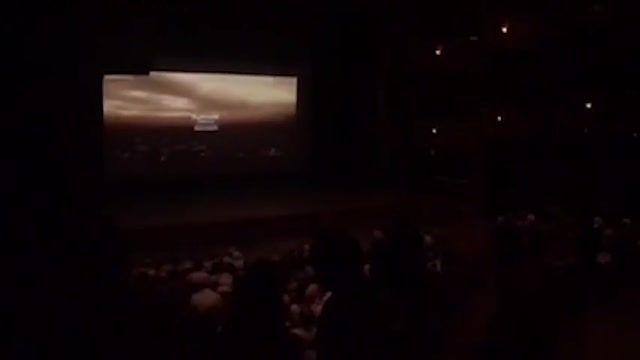 استقبال تماشاگران سوری و تشویق های آنها برای فیلم