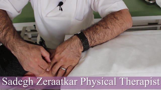 درمان درد گردن با طب سوزنی درای نیدلینگ در فیزیوتراپی آرامش