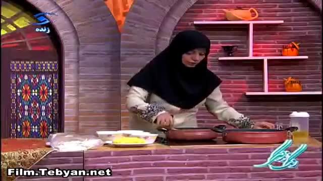 طرز تهیه سمبوسه ماکارونی آسان (خانم فشنگ چی)