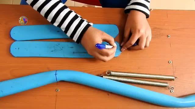 ساخت تفنگ ماهیگیری با لوله PVC