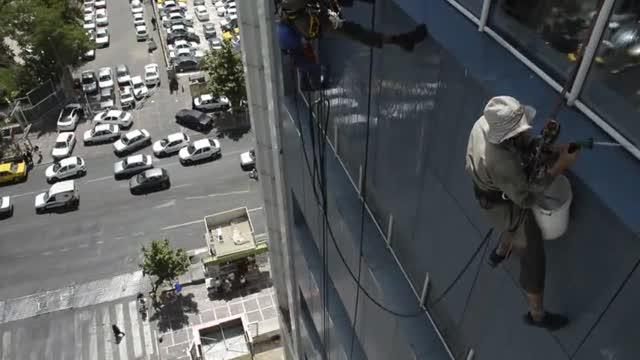 شستشوی نمای ساختمان-آذرخش ساختمان کهن