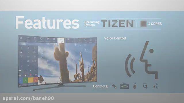 تلویزیون منحنی سامسونگ سه بعدی مدل KU7500
