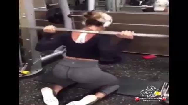تقویت عضلات پشت پا و باسن و چهار سر ران